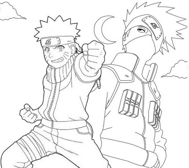 11 Great Naruto Coloring Pages for Children - Coloring Pages