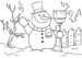 8 Perfect Snowman Coloring Pages for Kids