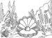 Seven Wonderful Oyster Coloring Pages