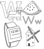 9 Top Letter W Coloring Pages for Preschooler Students