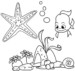 Wow! These 12 Beautiful Starfish Coloring Pages for Children