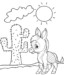 Twelve Funny Donkey Coloring Pages for Children