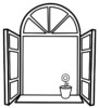 Five Cozy Window Coloring Pages for Design Ideas