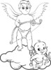 Top 13 Beautiful Cupid Coloring Pages for Kids