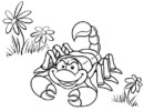 Top 9 Real and Cute Scorpion Coloring Pages for Children