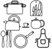 10 Best Kitchen Utensil Coloring Pages for Boys and Girls