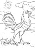 Top Eleven Funny Rooster Coloring Pages for Children