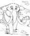Seven Wonderful Mammoth Coloring Pages for Children