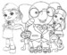 5 Lovely Rainbow Ruby Coloring Pages for Little Girls