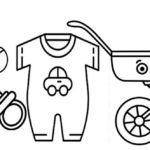 Baby Registry Coloring Page
