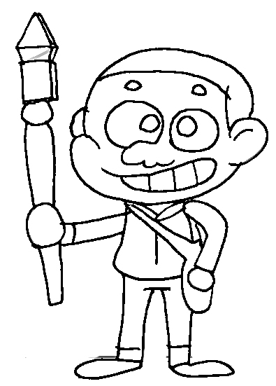 Craig Williams Coloring Page of Craig of The Creek