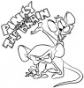 Seven Funny Pinky and The Brain Coloring Pages