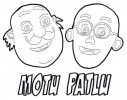 #6 Fun Motu Patlu Coloring Pages for Kids