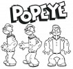 +8 Fun Popeye Coloring Pages for Children