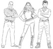 Five Cool Thundermans Coloring Pages for Children
