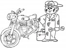 Eight Awesome Mechanic Coloring Pages for Boys