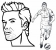 David Beckham and Gareth Bale Coloring Pages for Fans