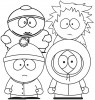 Nine-Funny South Park Coloring Pages for Kids