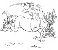 Seven Creative Centaur Coloring Pages for All-Ages