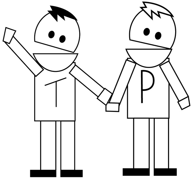 south park terrance and phillip episode coloring page