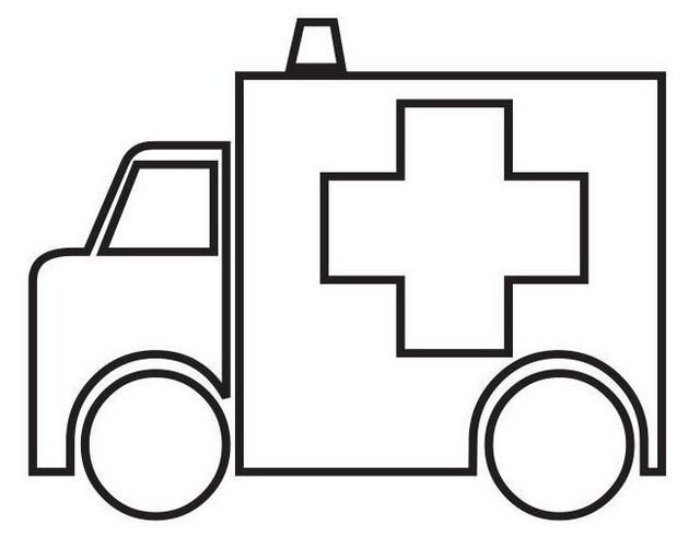 Ambulance Red Cross Drawing Kids