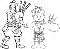 Scotland Coloring Pages: Learning Culture and Territories