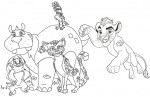 Top Eight Lion Guard Coloring Pages for Little Kids