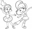 The New Fun Dance Coloring Pages for Kids