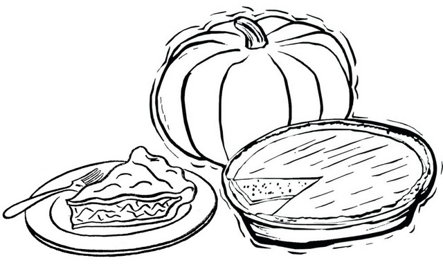 Six Fun Delicious Pie Coloring Pages For Kids Coloring Pages