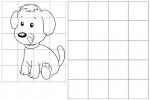 12 Best Animal Grid Drawing for Children
