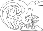 6 Amazing Wave Coloring Pages for Kids