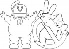 5 New Ghostbuster Coloring Pages for Kids and Adults
