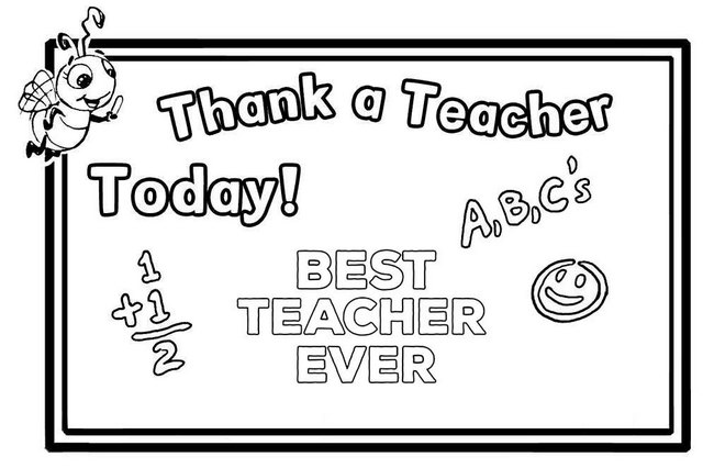 best teacher appreciation superhero coloring ideas
